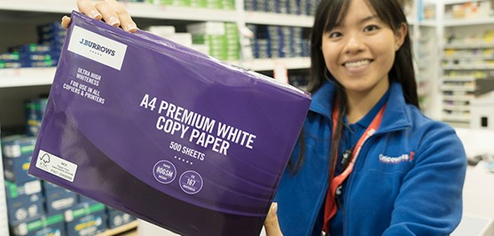 Officeworks grows sustainable paper sources