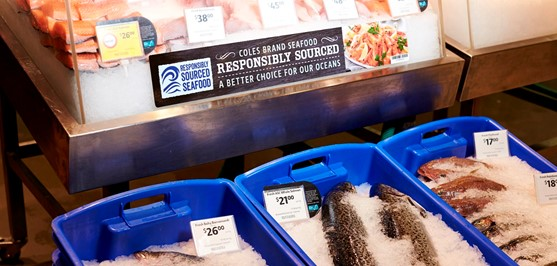 Responsibly sourced seafood